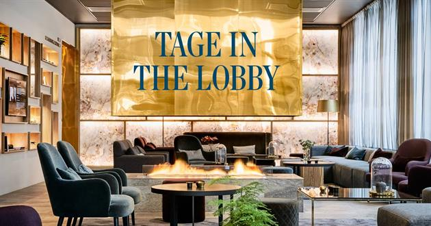 Tage in the lobby Kust hotell & spa