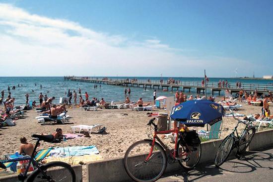 På Skrea Camping har du nära till Skrea strand i Falkenberg