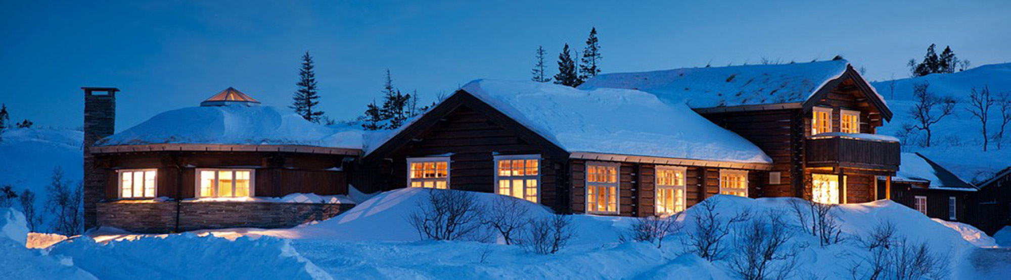 Ismenningen Lodge & Cabin rental in winter. Copyright: Ismenningen
