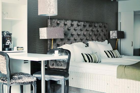 Boutiquerum på Varbergs Stadshotell & Asia Spa med modern och personlig prägel