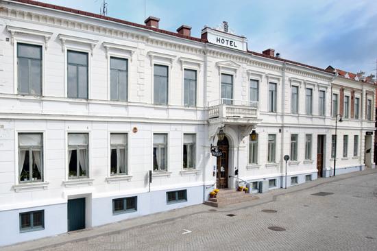Boka gärna ett paket på Laholms Stadshotell