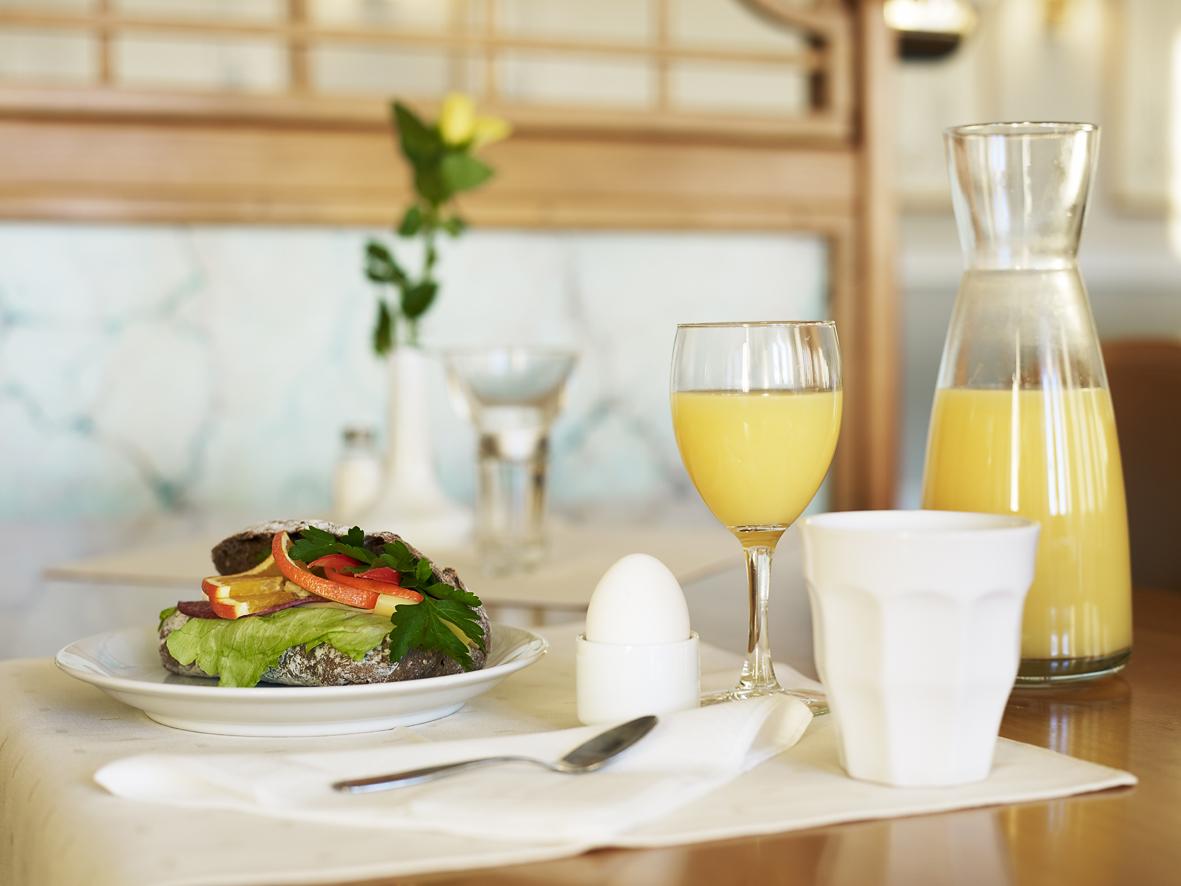 Frukost hos Furunäset hotell och konferens