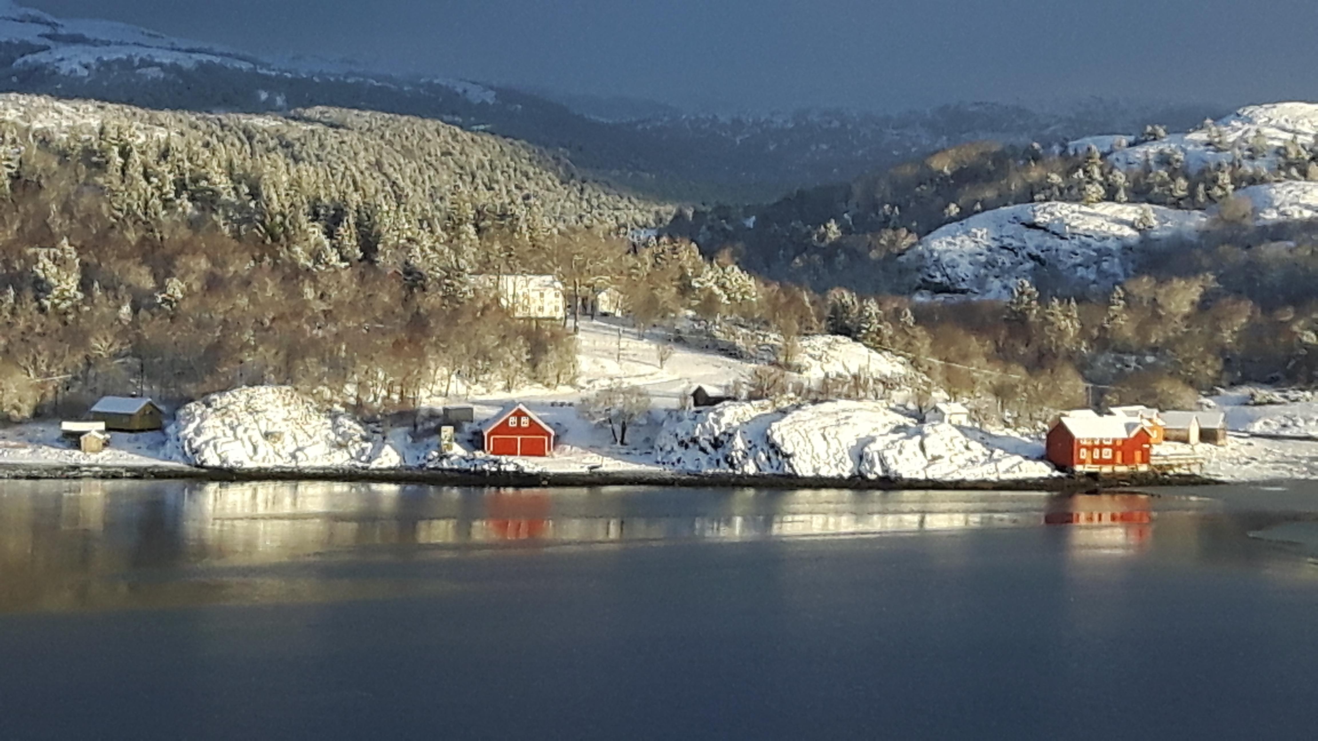 Mølnargården er åpen for arrangementer også om vinteren. Copyright: Mølnargården