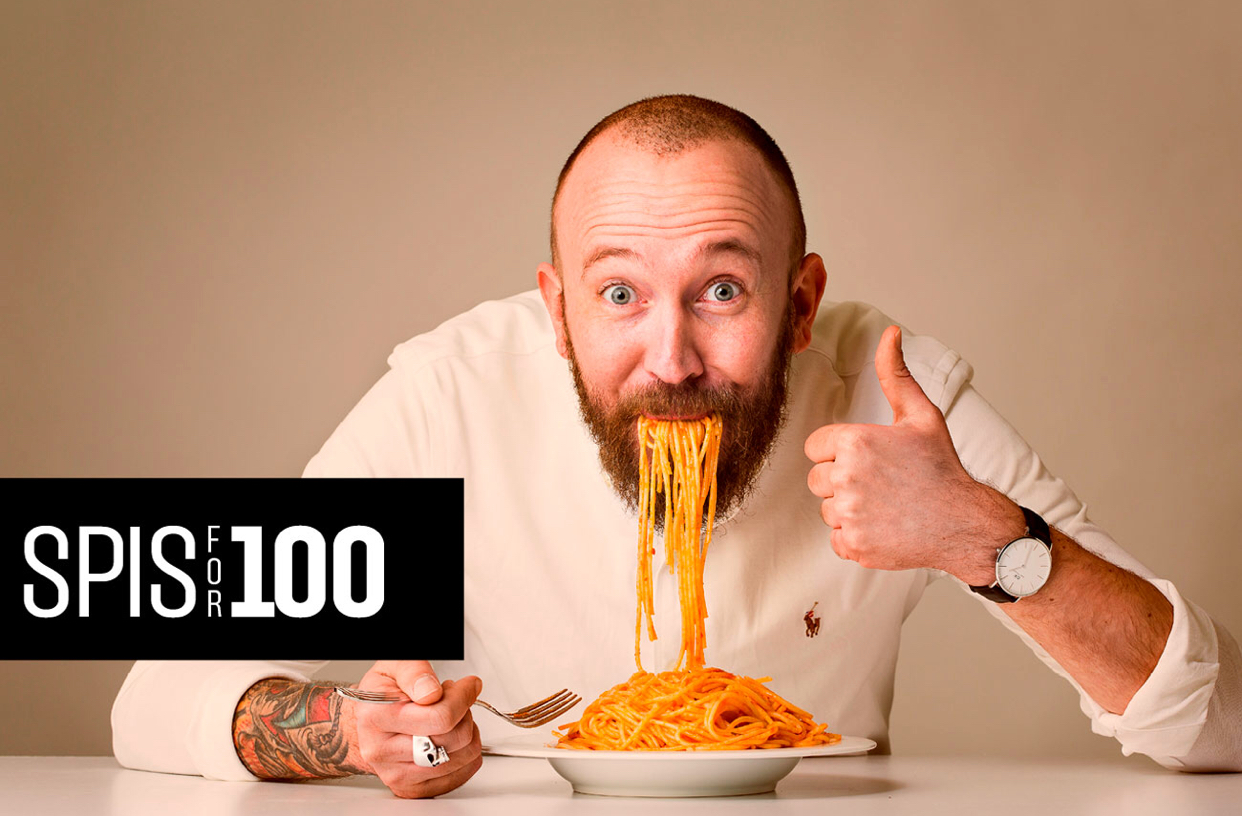 Spis for 100,-, © Skien By