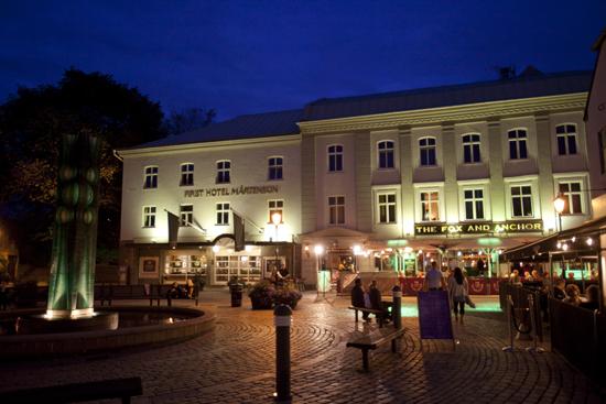 First Hotel Mårtenson beläget på Storgatan mitt i centrala Halmstad