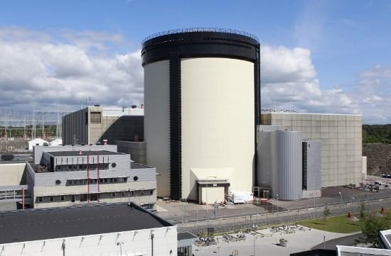 Ringhals kärnkraftverk ligger i Halland, norr om Varberg