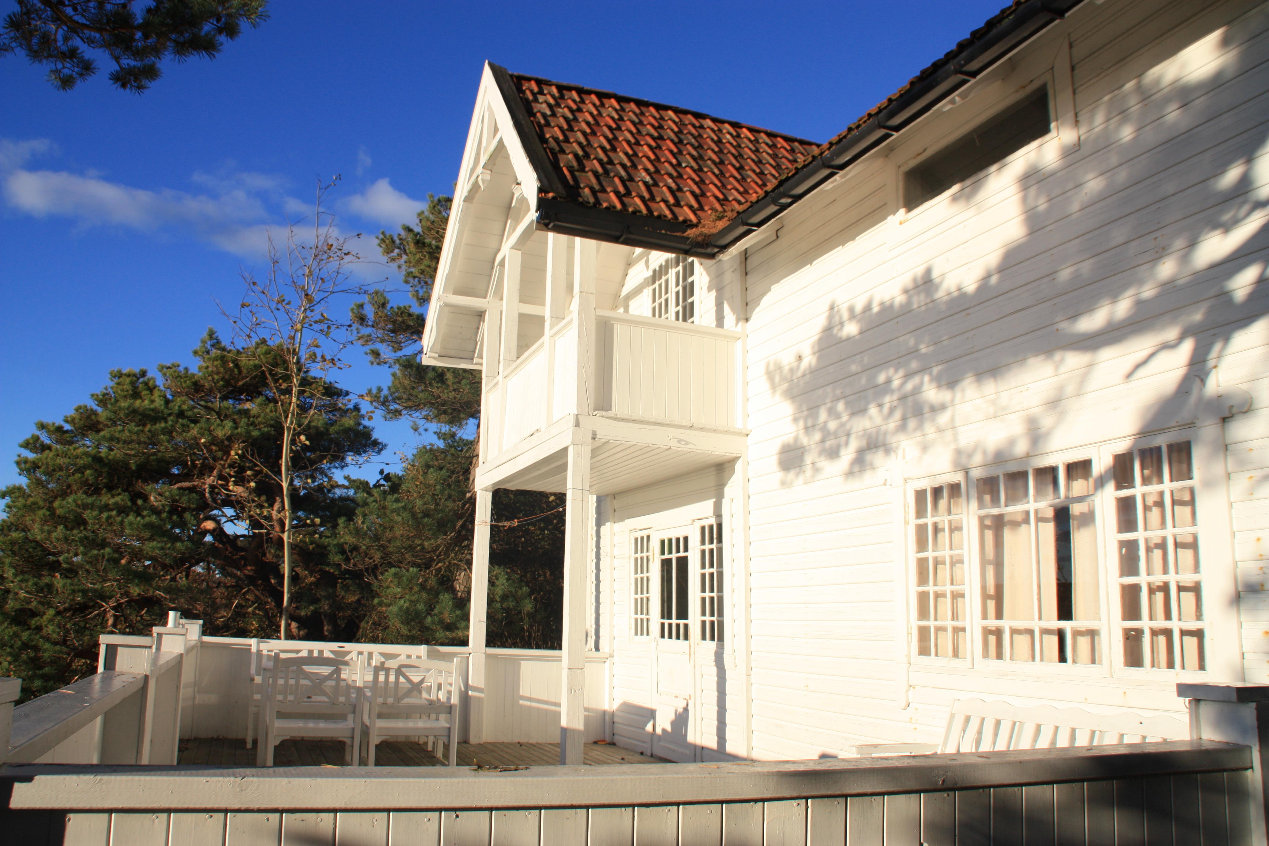 Langesund Bad ligger vakkert til i Langesund, Telemark Hotell, Hytteutleie og bobilparkering, © Langesund Bad