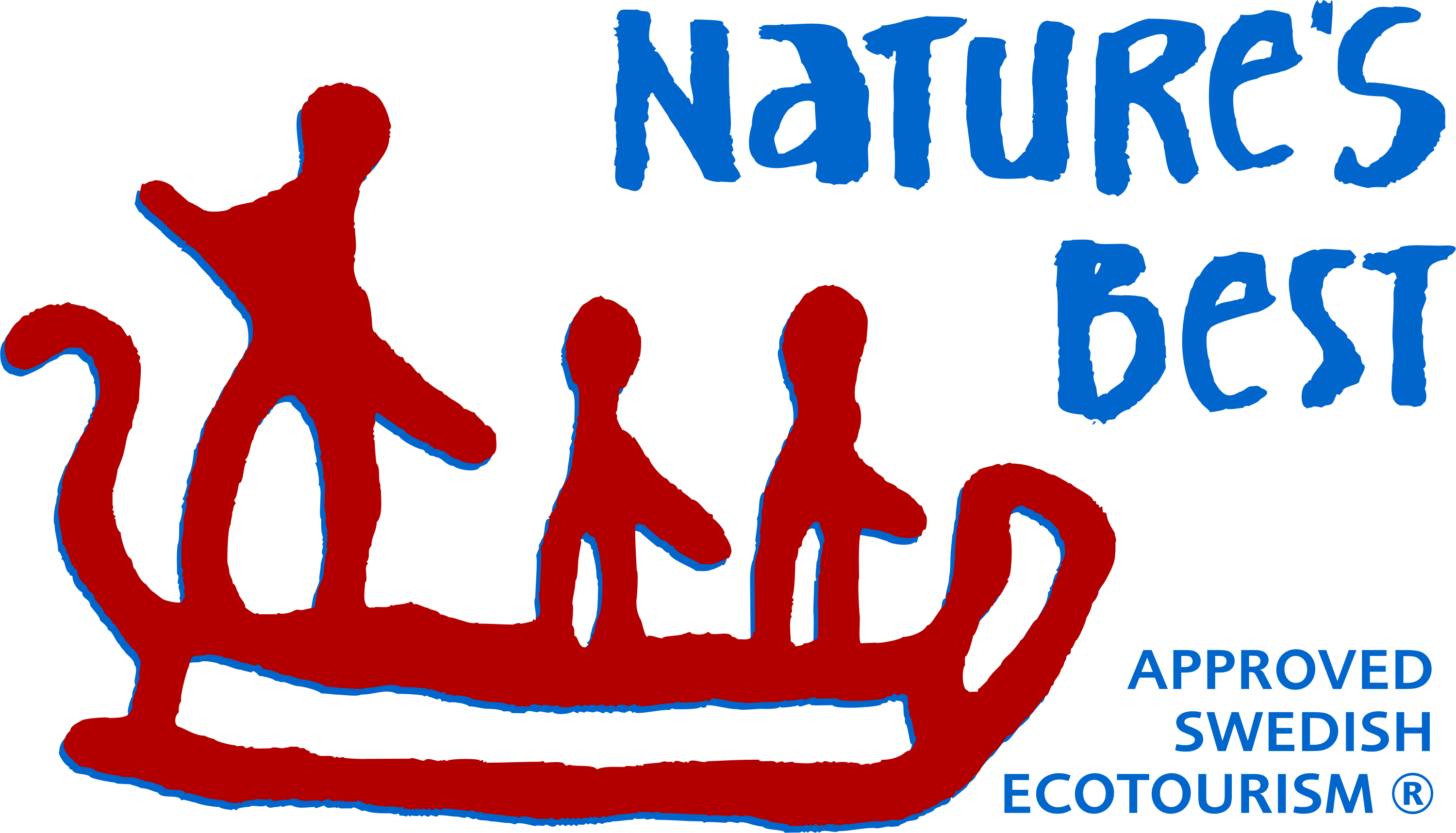 Natures best logotype
