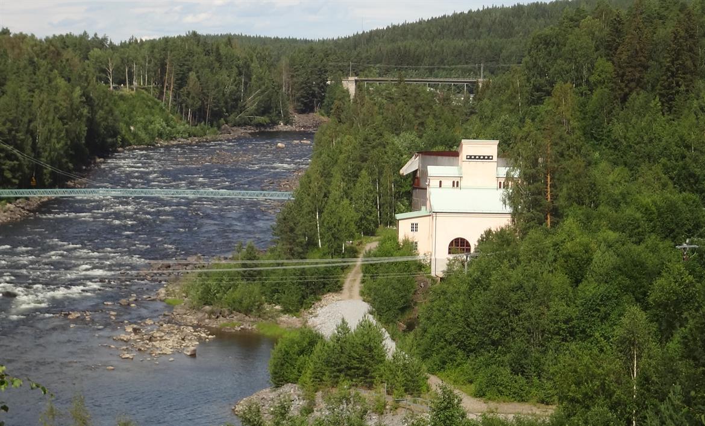 Sikfors Kraftverksmuseum Exteriör Vy