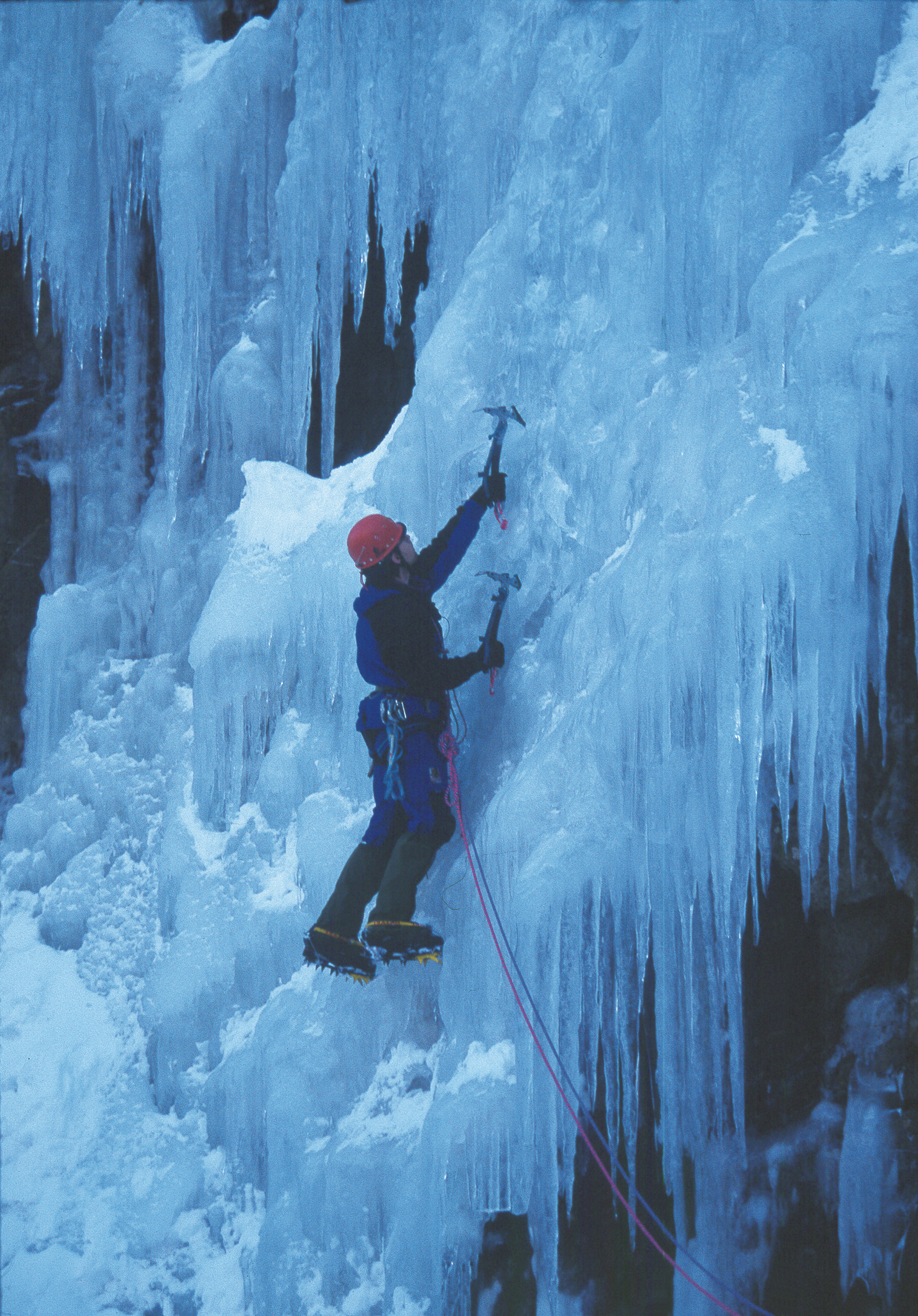 Rjukan arrangerer årlig en isklatrefestival. , © Jarle Andersen