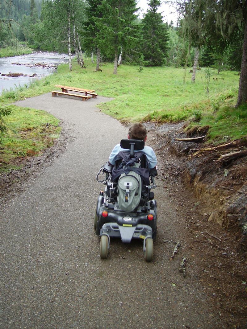 Holsingseteren summer mountain farm is facilitated for the handicapped. Copyright: Holsingseteren