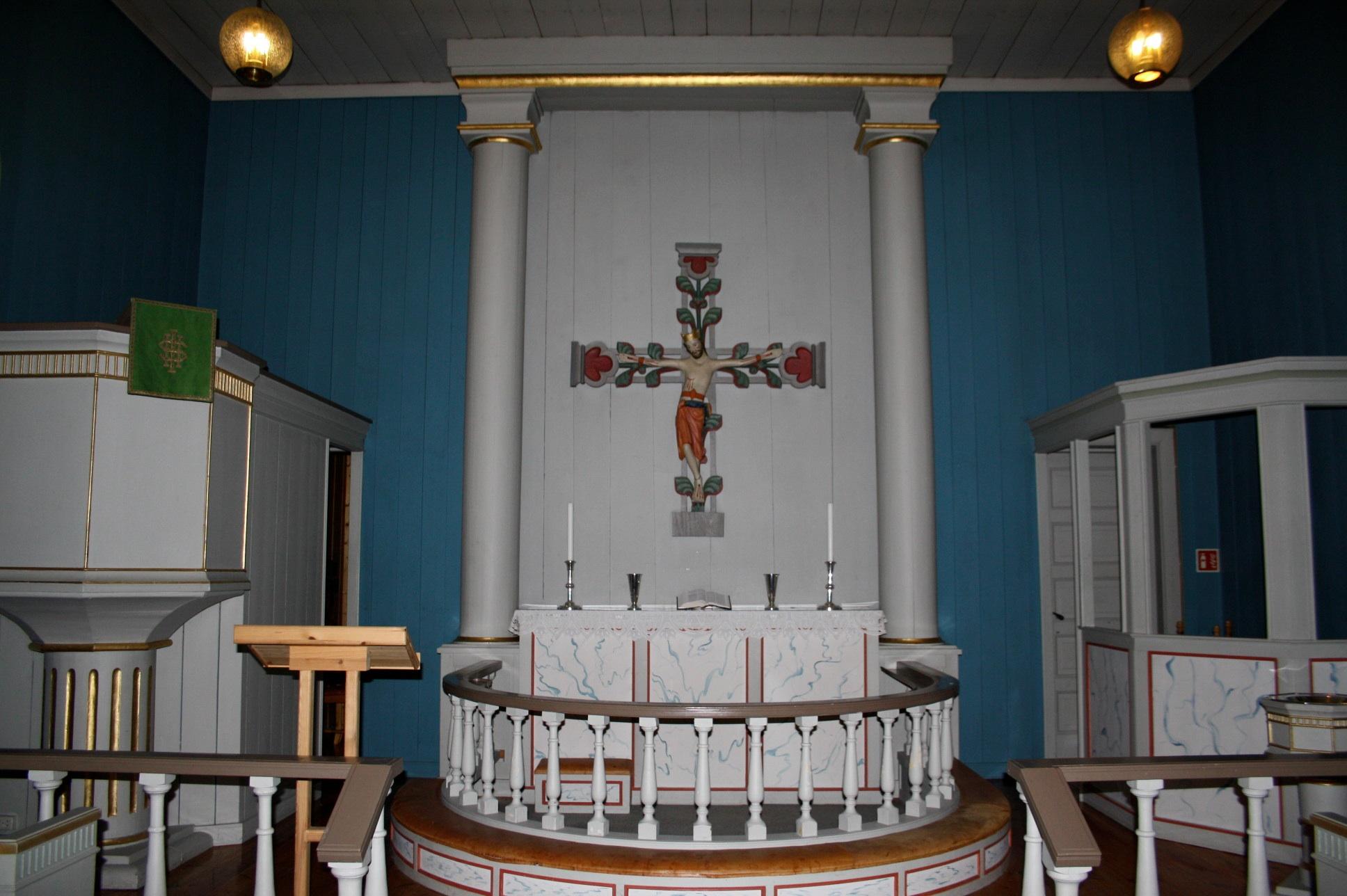 Folkemusikkmesse i Dal Kirke