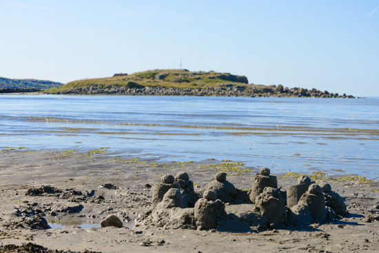 Hansagårds Camping ligger precis vid den långsträckta barnvänliga sandstranden söder om Falkenberg