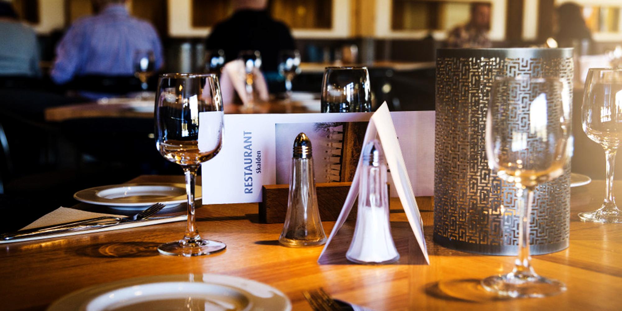 Restaurant Skalden at Stiklestad Hotell. Copyright: Stiklestad Nasjonale Kultursenter