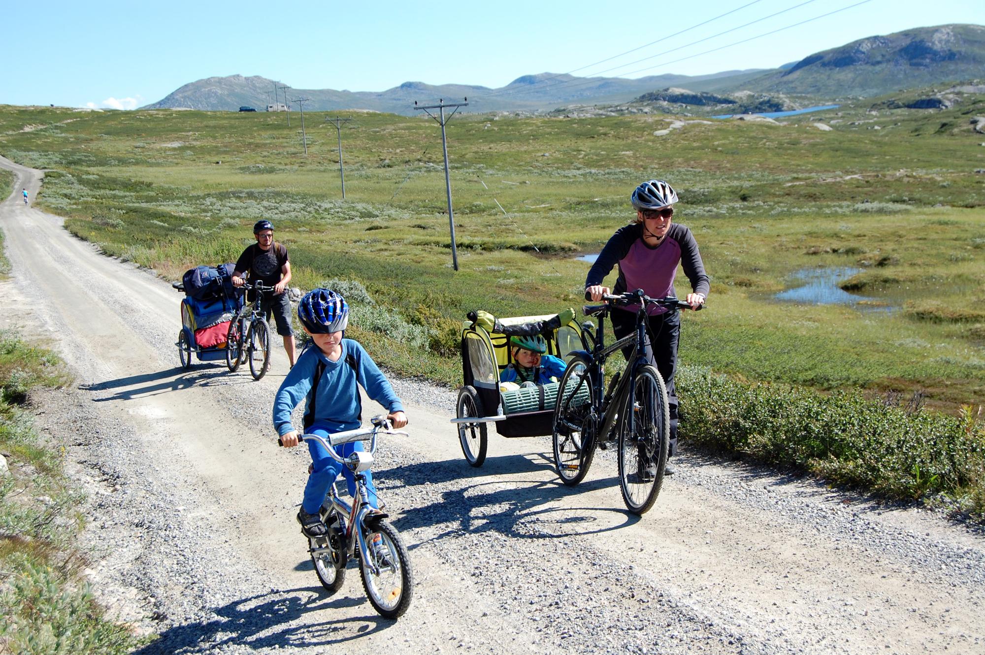 barnevennlig sykkeltur , © Kjell Gunnar Dahle