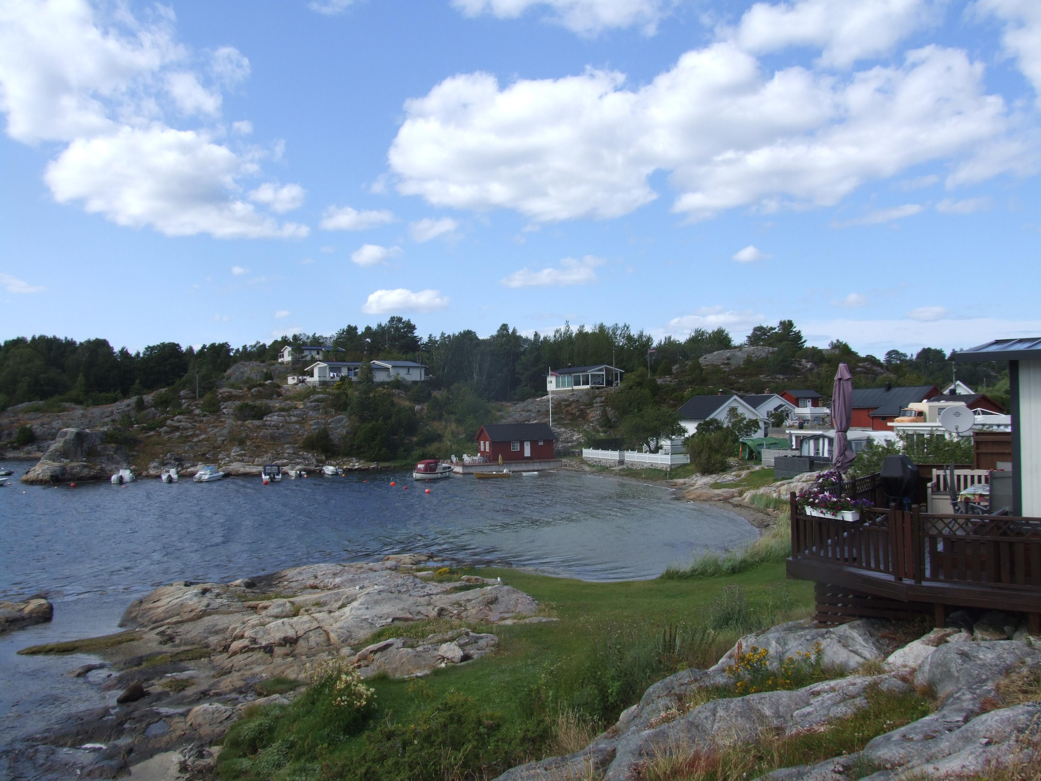 Kjønnøya camping i Bamble kommune. , © VisitGreland