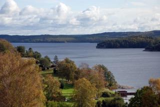 Sjön Lygnern. Fotograf: Adam Folcker
