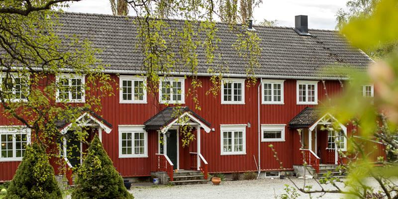 Inderøy Gårdsbryggeri, along the golden road - the main house. Copyright: Inderøy Gårdsbryggeri