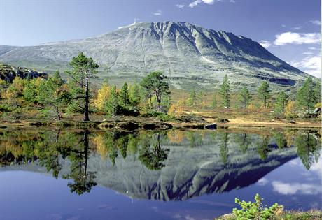 Gaustatoppen is one of few mountains in Norway that almost everyone can reach the top, due to the elevator inside the mountain, Gaustabanen. , © Ove Bergersen