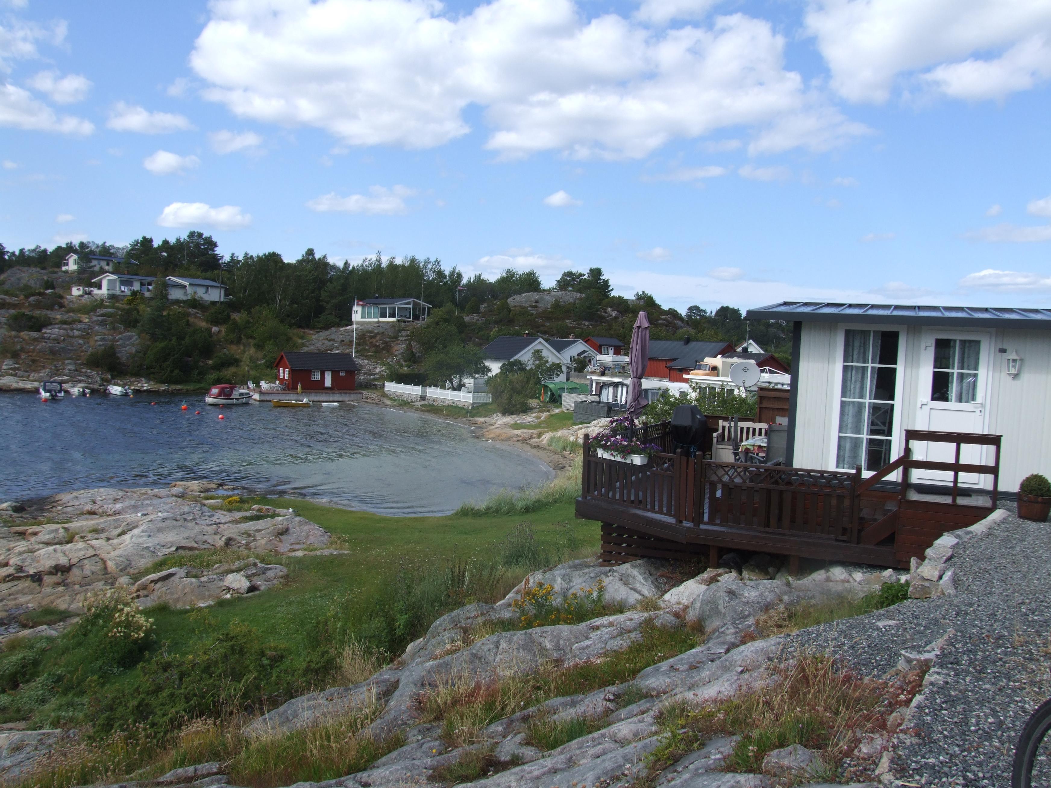 Kjønnøya camping i Bamble kommune. , © VisitGrenland