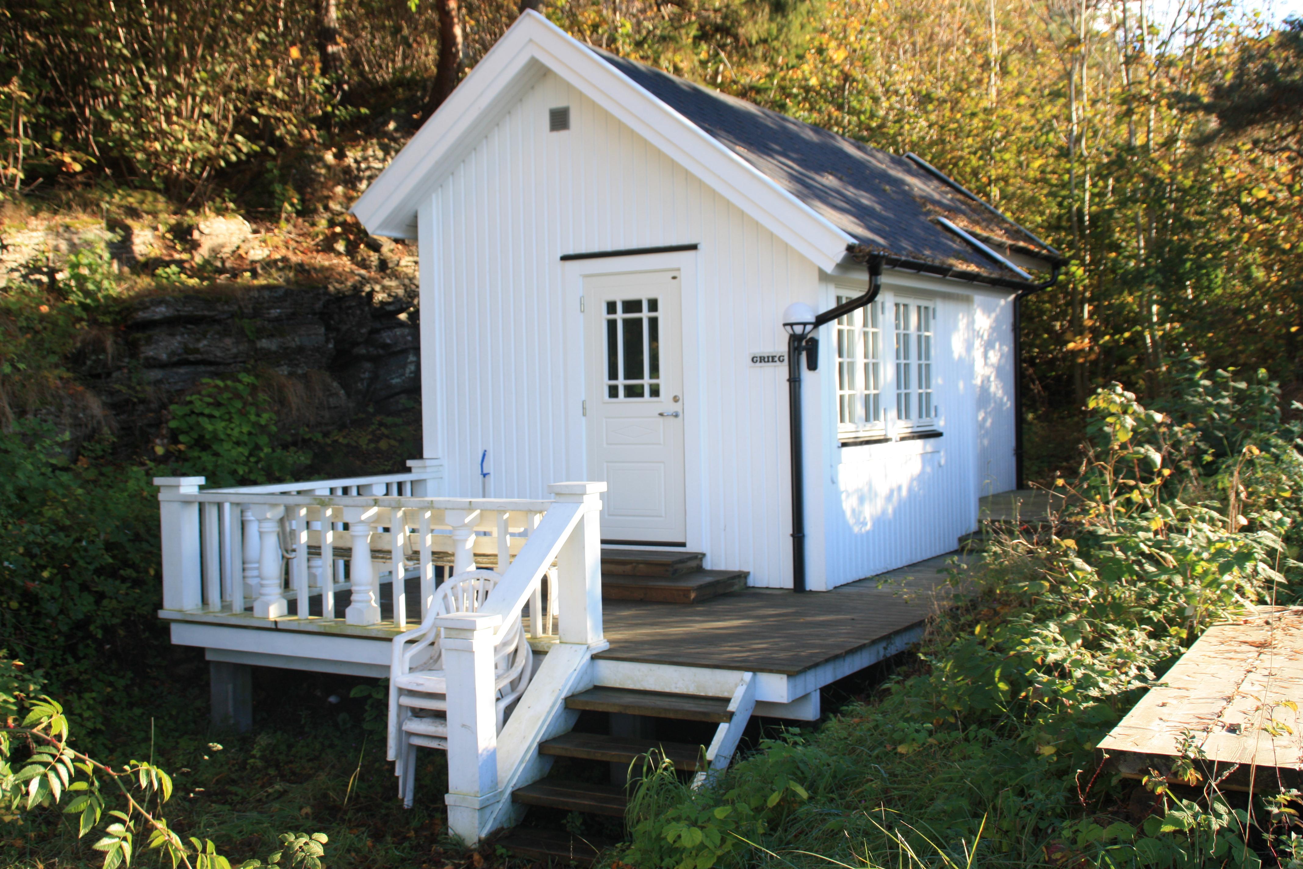 Langesund Bad leier ut fine hytter, beliggende i Langesund, Telemark, © Langesund Bad