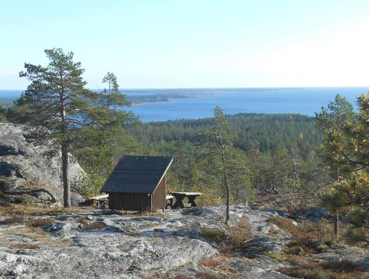 Utsikt från Högberget, Jävre.