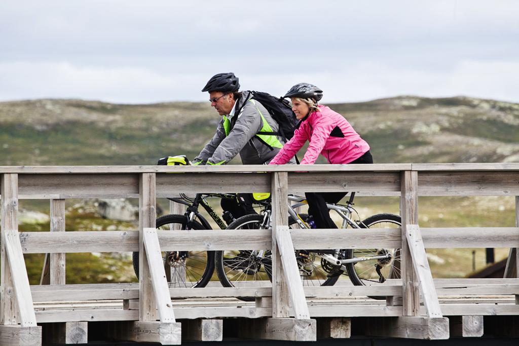 Veien fra Gvepseborg til Kalhovd er 30 km lang.  , © Fotograf Jacobsen