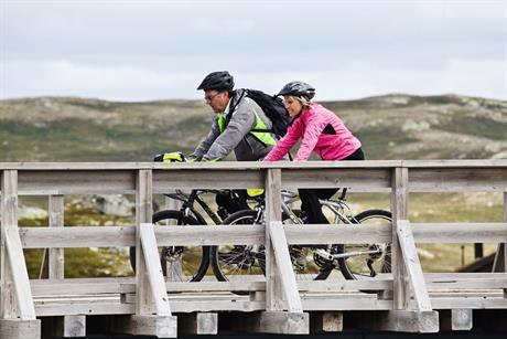 Veien fra Gvepseborg til Kalhovd er 30 km lang., © Fotograf Jacobsen