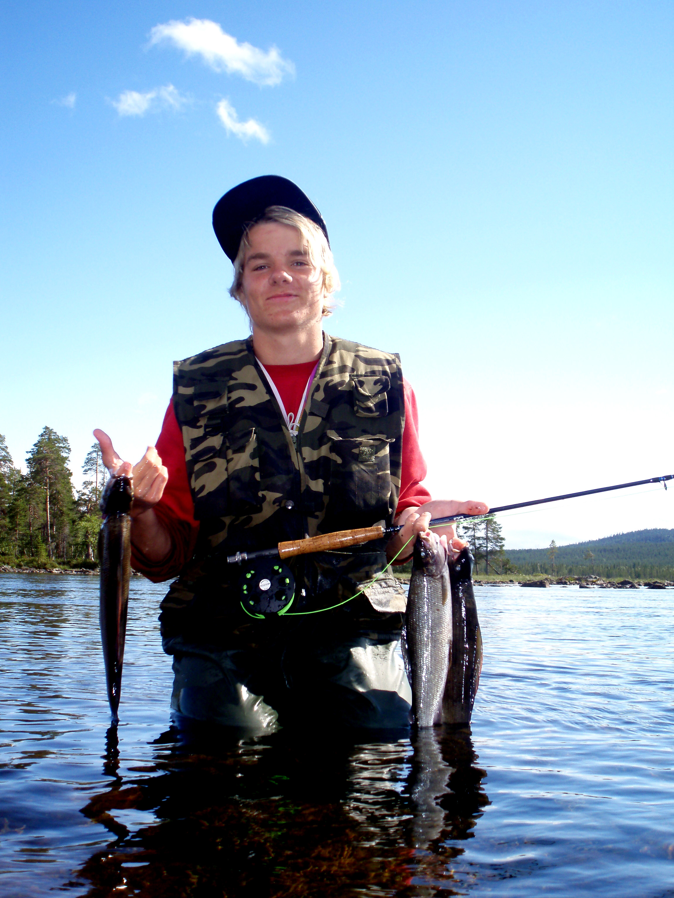 Fisk fångst, Stina Eriksson