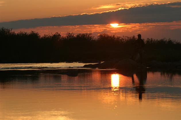 Solnedgång, Örjan