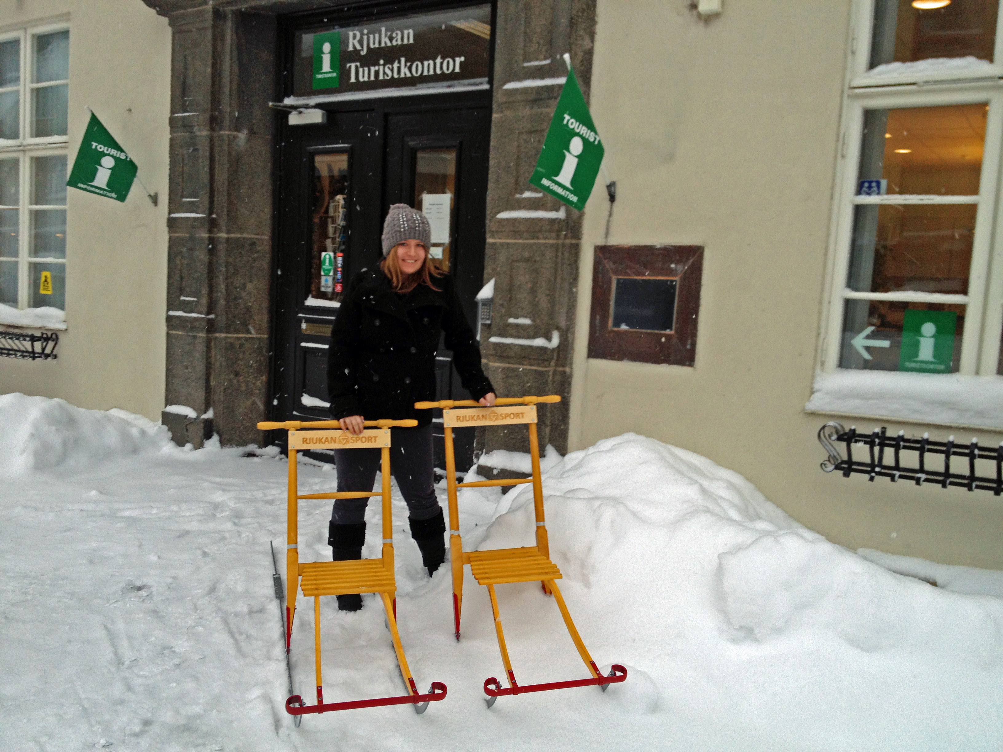 "Rjukan tourist office rents out 2 ""sparker"""