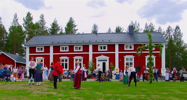 Midsommarfirande Fagervik, Fagervik
