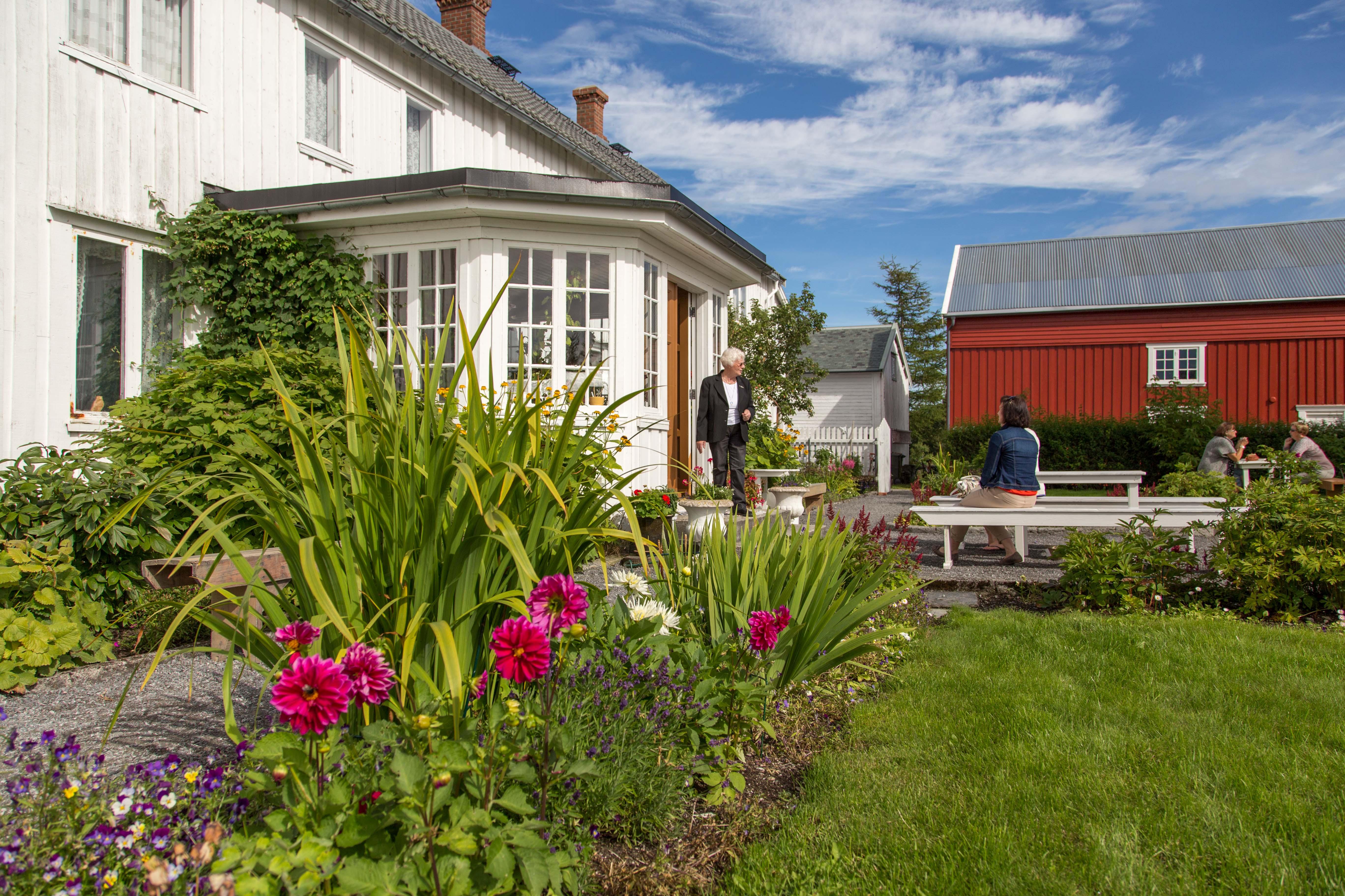 Uthaugsgården. Copyright: Ørland kysthotell