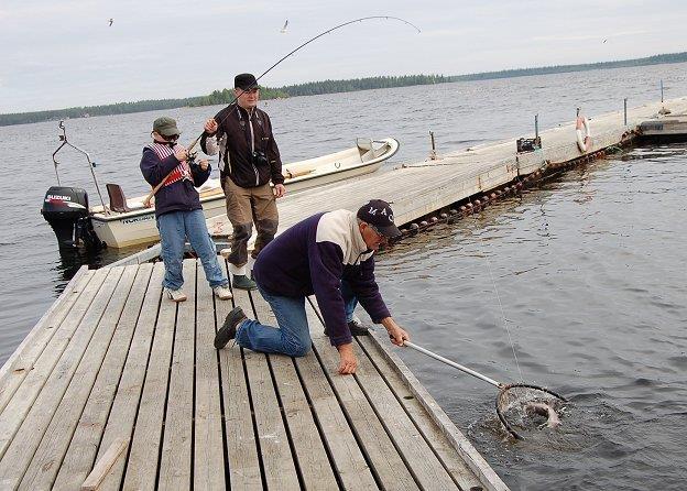 Put and take, Jävrebodranas Fiskecamp