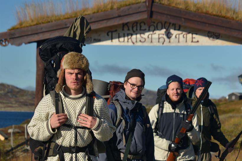 After a hike at Hardangervidda you can stay the night at Kalhovd Tourist Cabin , © Nancy Bundt