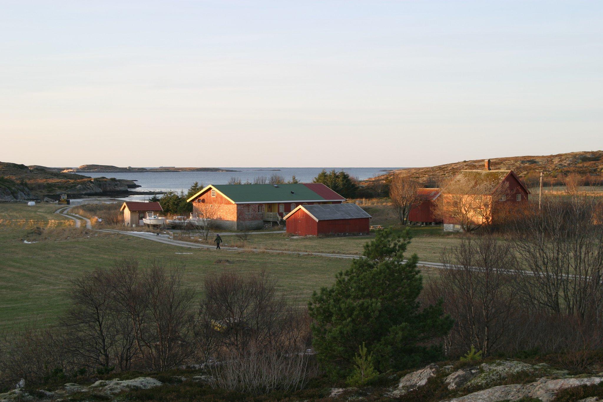 Vågan Feriegård på Linesøya