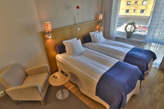 Hotell Halland ligger i Kungsbacka, strax söder om Göteborg.