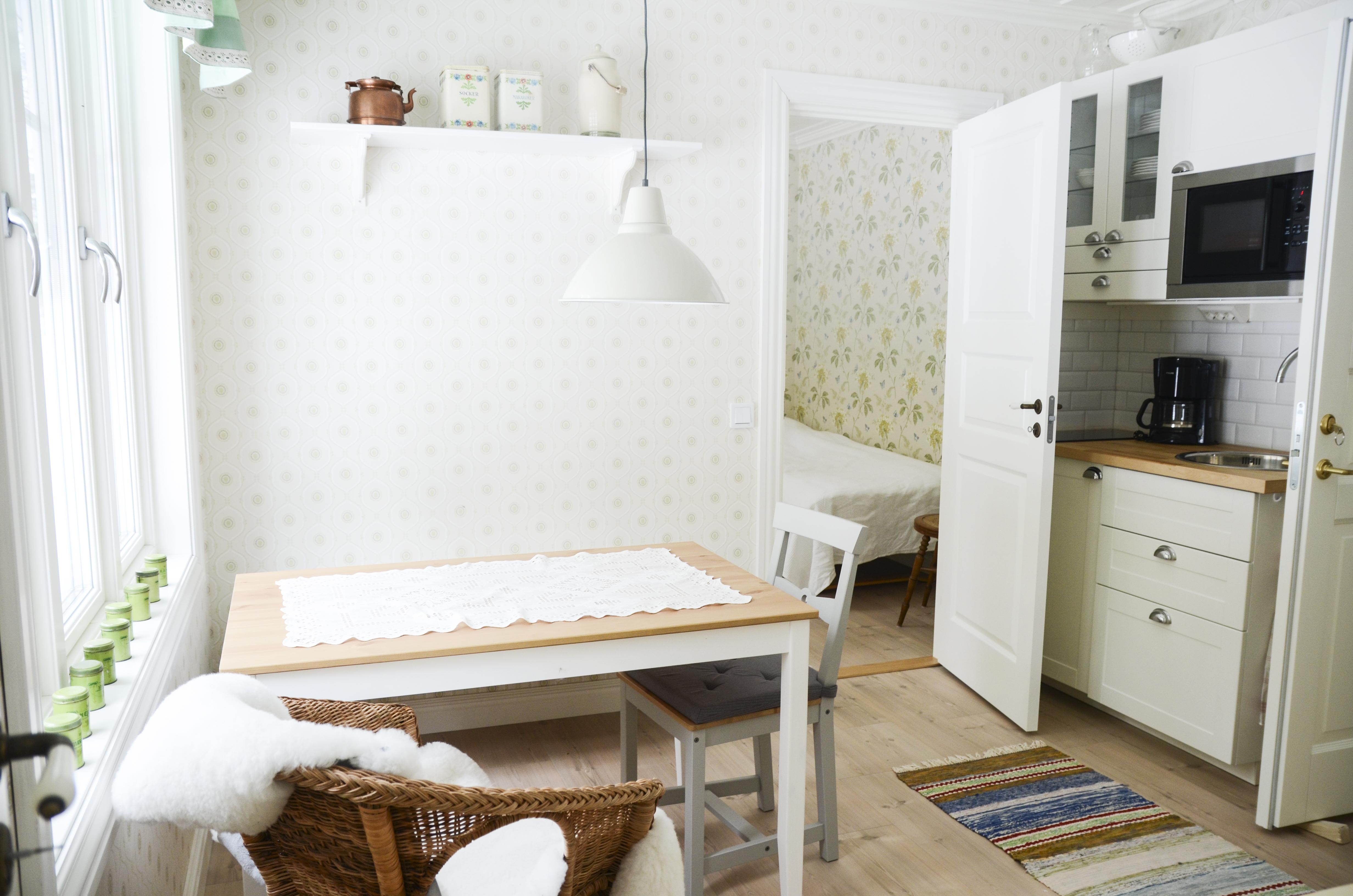 Lilla köket på övervåningen