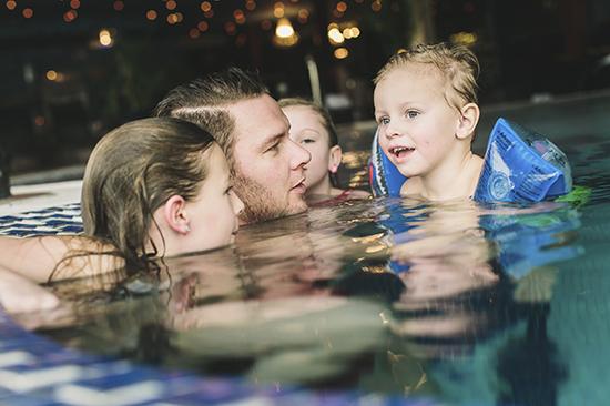Hela familjen är välkommen till Säröhus relaxavdelning Särö Källa