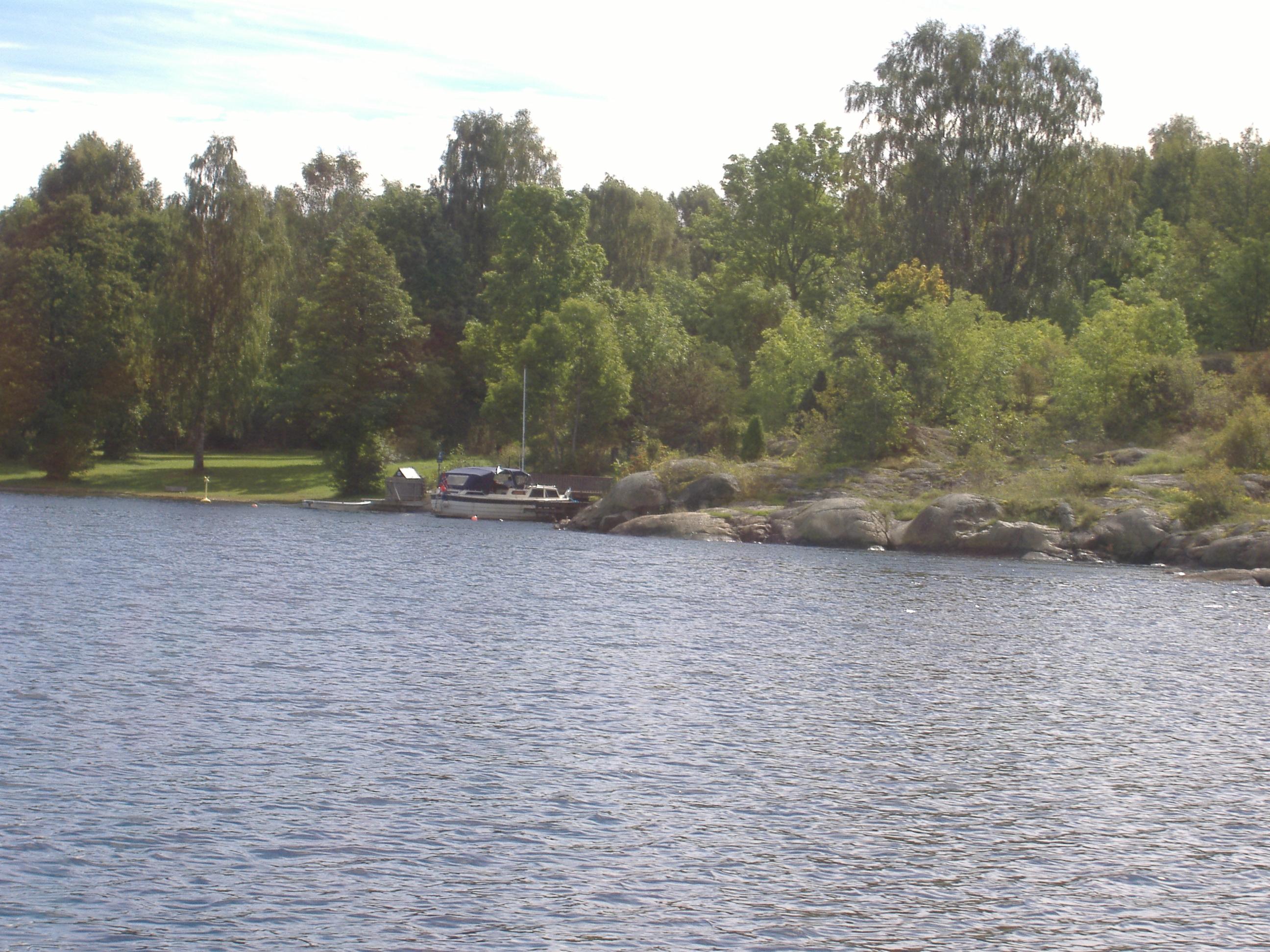 Løvøya utenfor  Brevik. Fint sted for båtfolk og dagsbesøkene