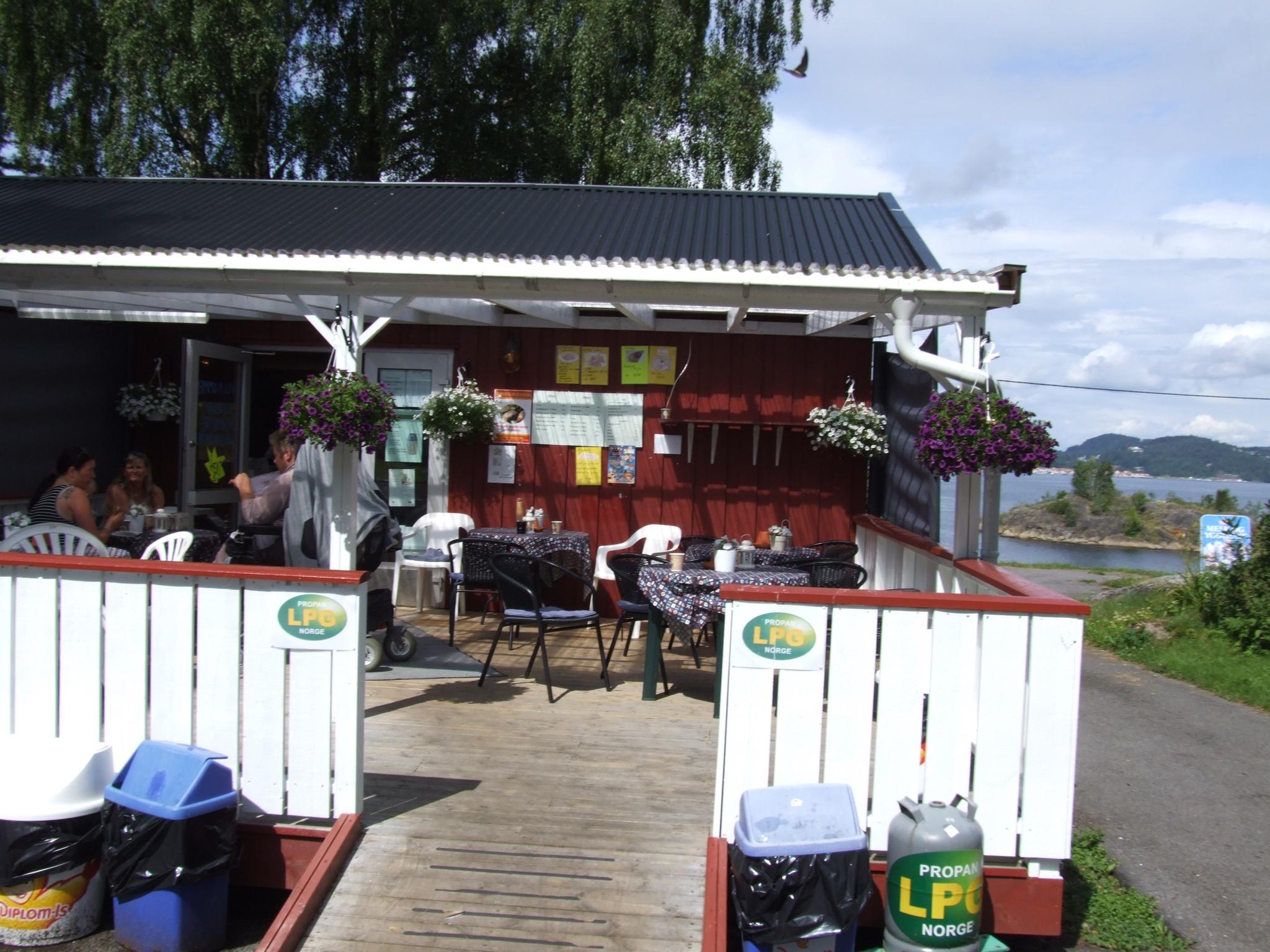 Dikkon kafe på Sandøya