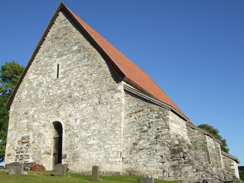 Sakshaug old church - Medieval Church in Inderøy