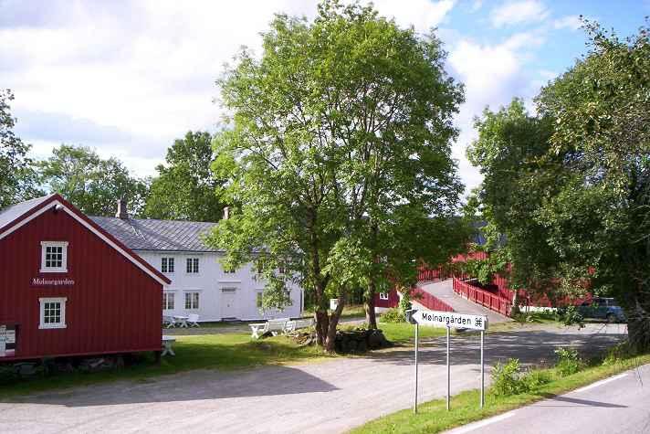 Mølnargården tunet. Copyright: Mølnargården
