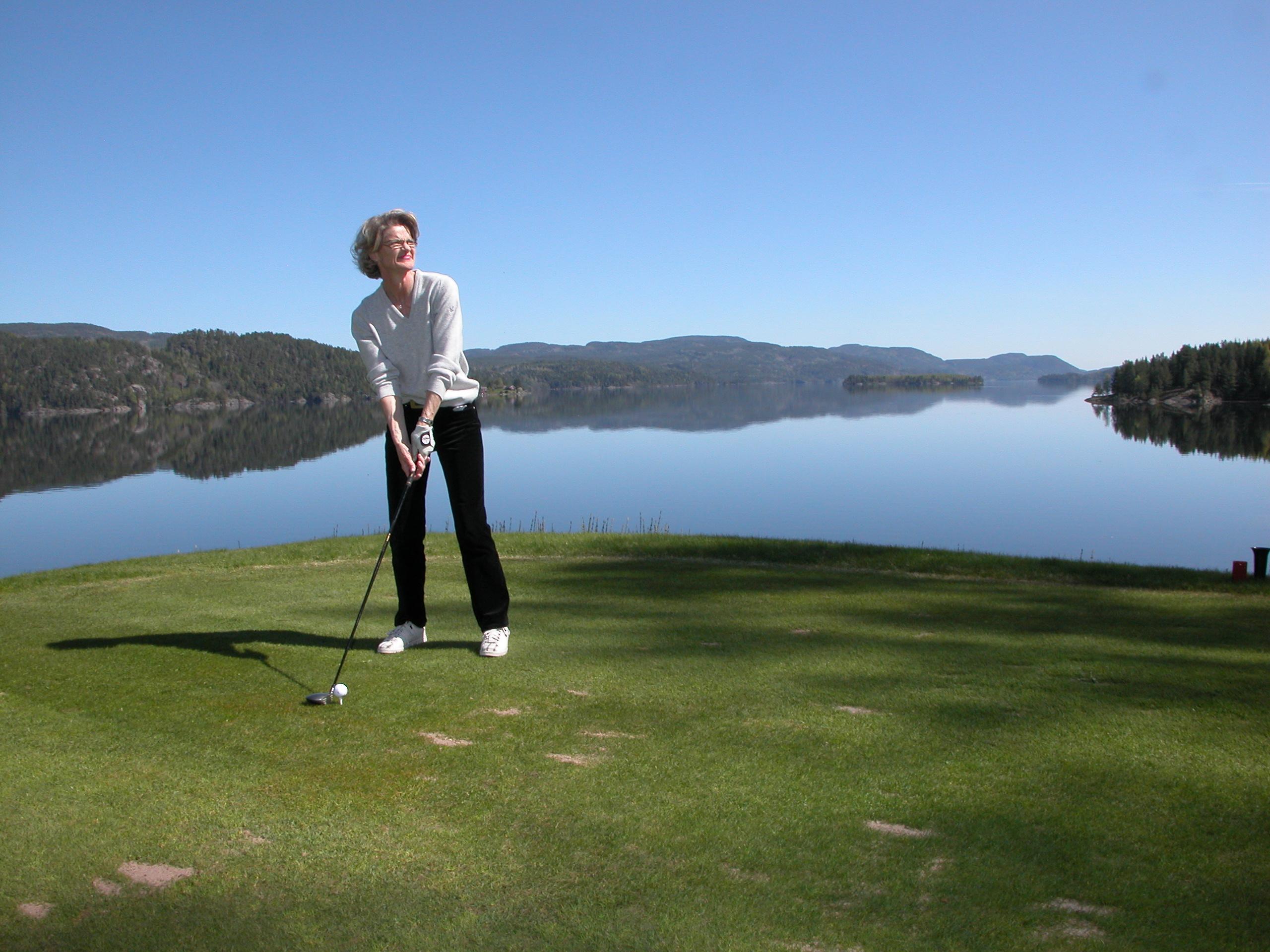 Norsjø Golfpark ligg idyllisk til ved Norsjø, kun 20 minutters avstand fra hotellet. , © Norsjø Golfpark