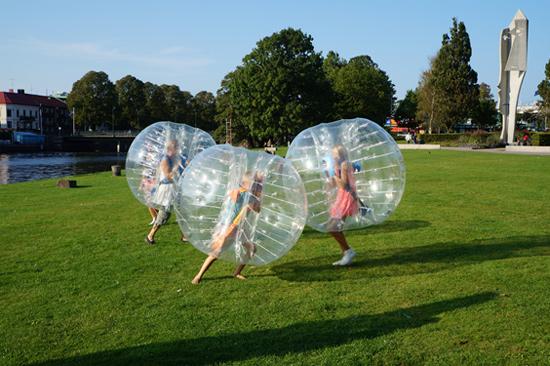 Bubbleball - en kul aktivitet som passar alla