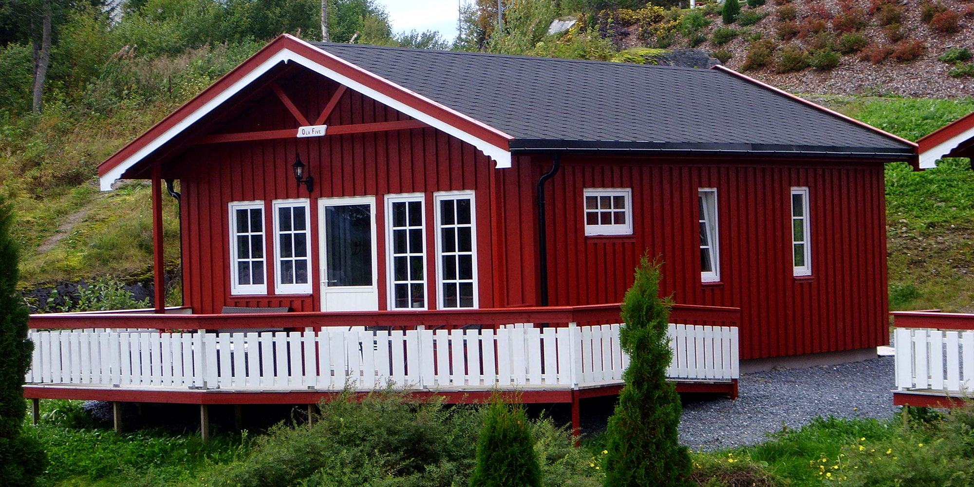 Cabin nr 7 at Føllingstua camping. Copyright: Føllingstua