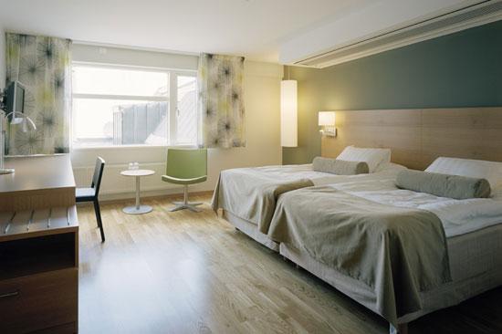 Scandic Hotel Hallandia har nyrenoverade, härliga och ljus rum
