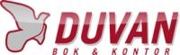 Logotyp Duvan, Duvan bok och kontor