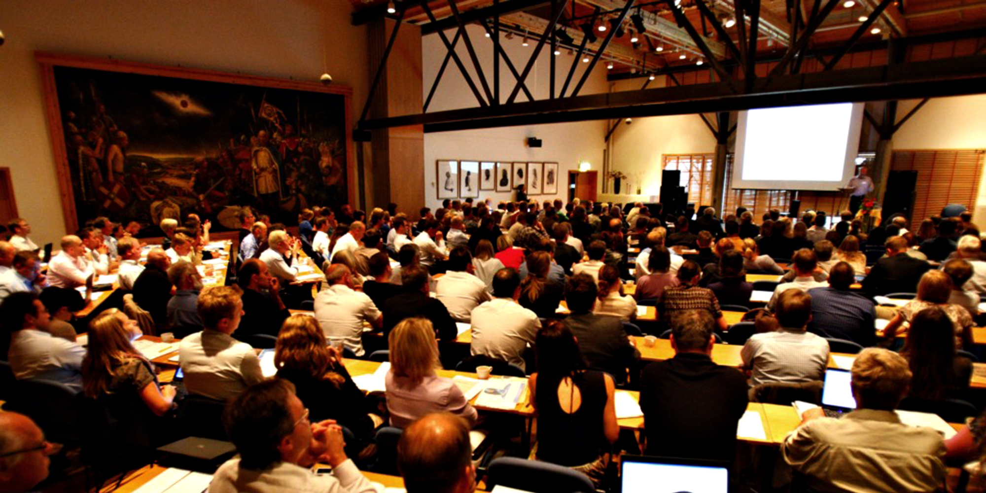 Stiklestad Hotell - conference room - Konferansesalen 1030. Copyright: Stiklestad Hotell