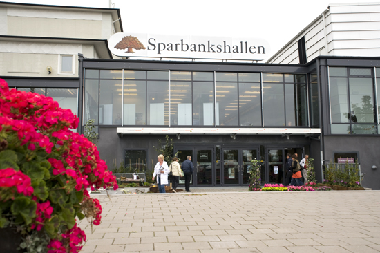 Varberg Event håller till i Sparbankshallen, Varbergs nya multiarena